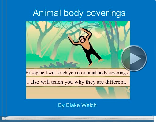 Book titled 'Animal body coverings'
