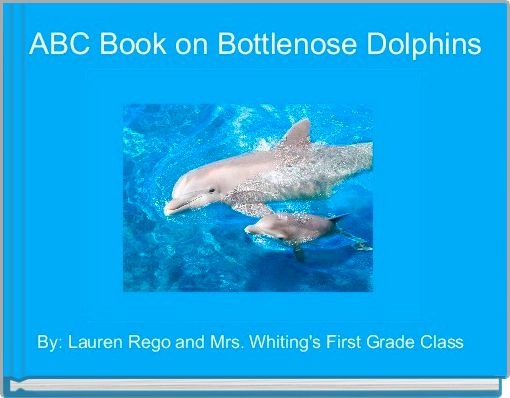ABC Book on Bottlenose Dolphins