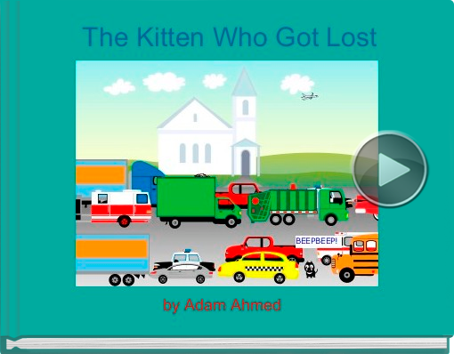Book titled 'The Kitten Who Got Lost'