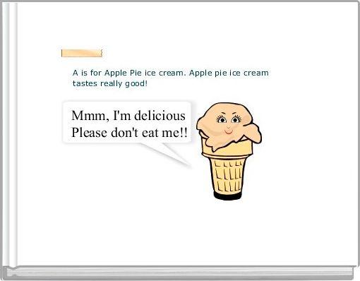 The Amazing Ice Cream Alphabet