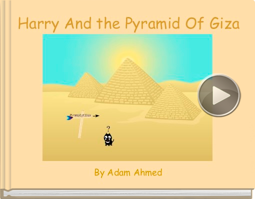 Book titled 'Harry And the Pyramid Of Giza'