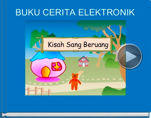 Book titled 'BUKU CERITA ELEKTRONIK'