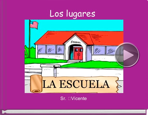 Book titled 'Los lugares'