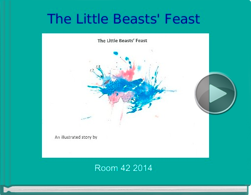 Book titled 'The Little Beasts' Feast'