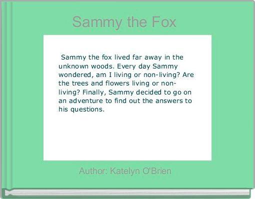 Sammy the Fox