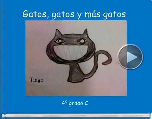 Book titled 'Gatos, gatos y más gatos'