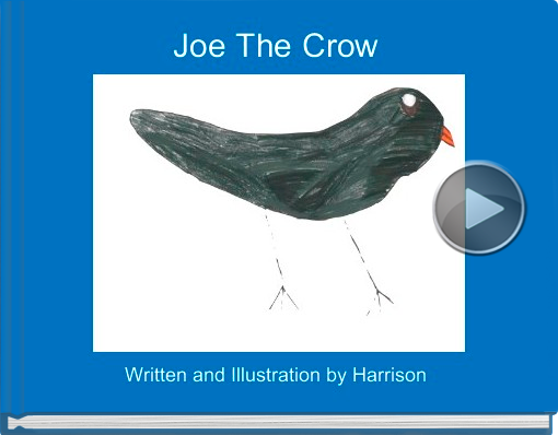 Book titled 'Joe The Crow'
