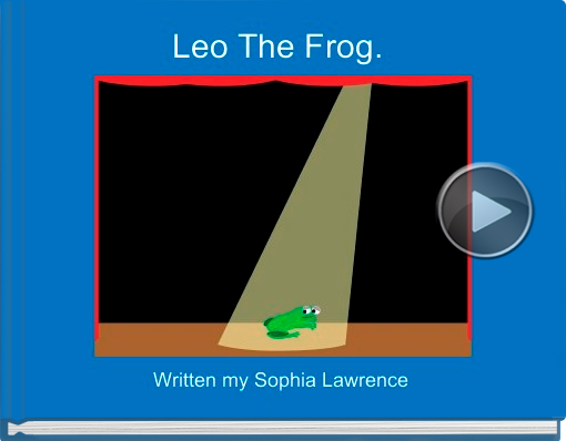 Book titled 'Leo The Frog.'