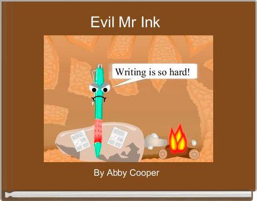 Evil Mr Ink