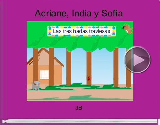 Book titled 'Adriane, India y Sofía'