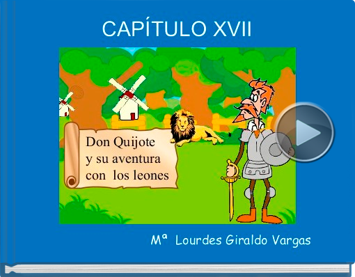 Book titled 'CAPÍTULO XVII'