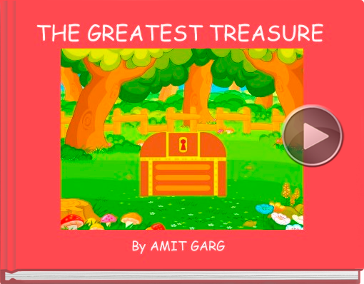 Book titled 'THE GREATEST TREASURE'