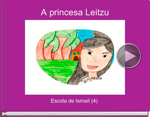 Book titled 'A princesa Leitzu'