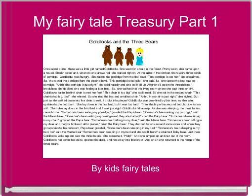My fairy tale Treasury Part 1