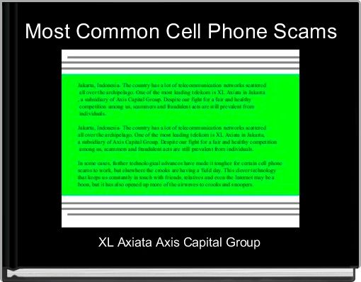 Most Common Cell Phone Scams