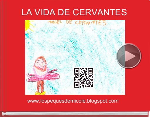Book titled 'LA VIDA DE CERVANTES'