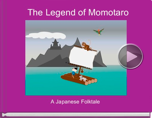 Book titled 'The Legend of Momotaro'