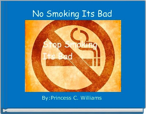 No Smoking Its Bad