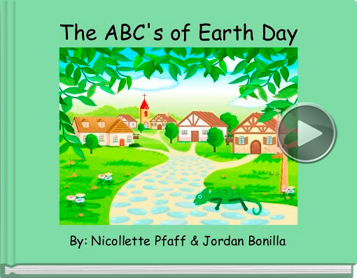Book titled 'The ABC's of Earth Day'
