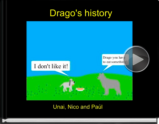 Book titled 'Drago's history'