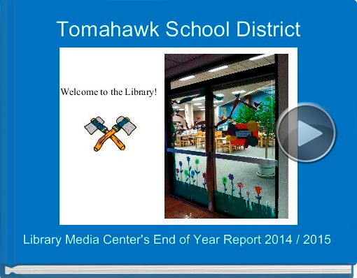 Book titled 'Tomahawk School District'