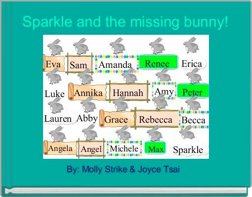 Sparkle and the missing bunny!