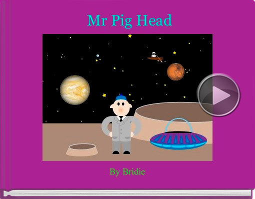 Book titled 'Mr Pig Head'