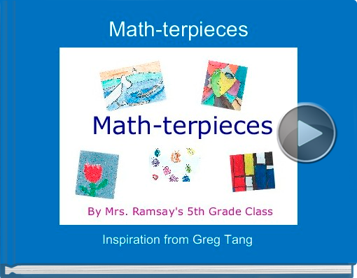 Book titled 'Math-terpieces'