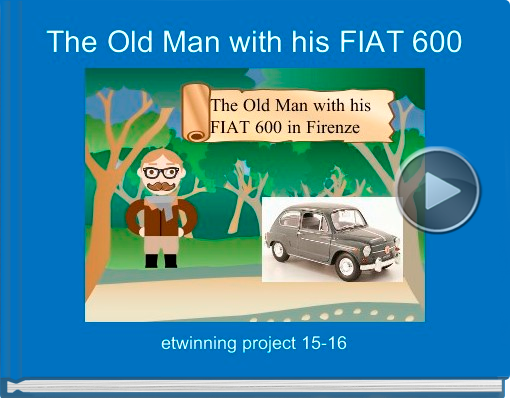 Book titled 'The Old Man with his FIAT 600'