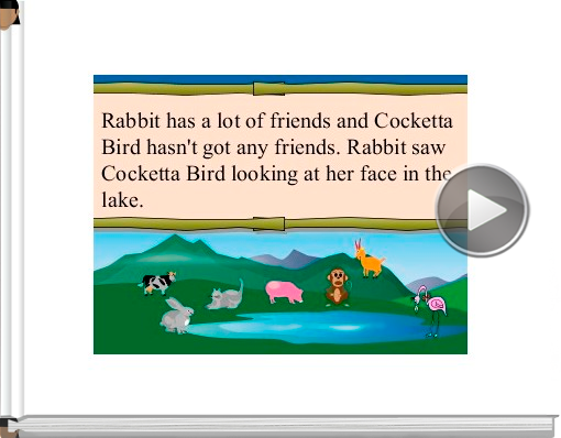 Book titled 'Rabbit and Cocketta Bird'
