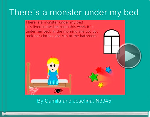 Book titled 'There´s a monster under my bed'