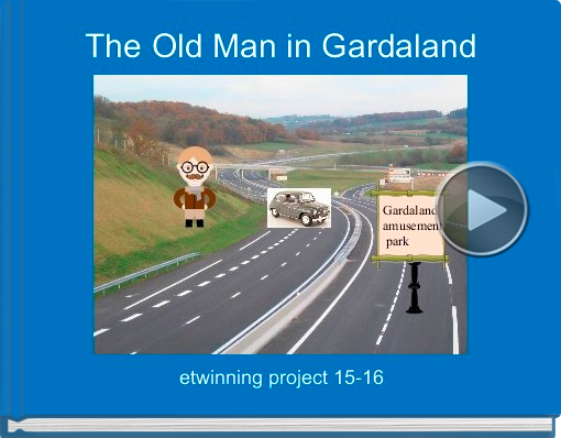 Book titled 'The Old Man in Gardaland'