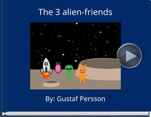 Book titled 'The 3 alien-friends'