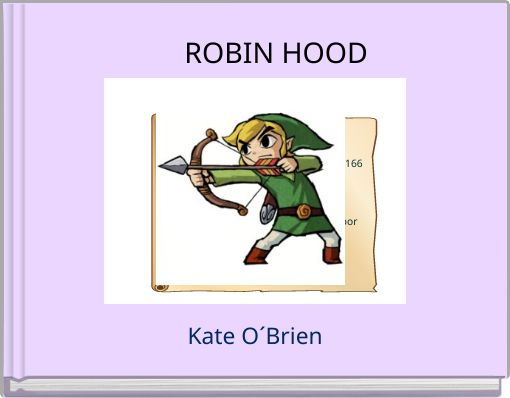 book report on robin hood