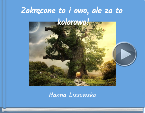 Book titled 'Zakr�cone to i owo, ale za to kolorowo!'