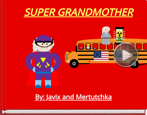 Book titled 'SUPER GRANDMOTHER'
