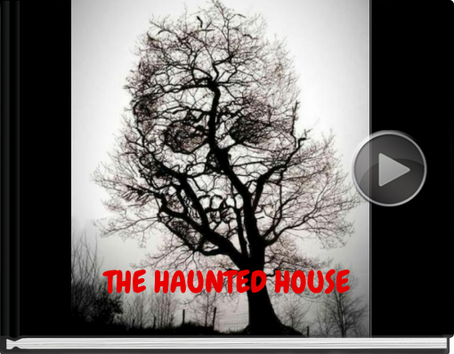 Book titled 'THE HAUNTED HOUSE'