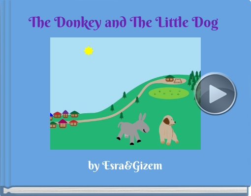 Book titled 'The Donkey and The Little Dog'