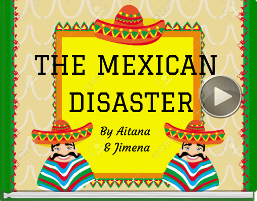 Book titled 'THE MEXICAN DISASTER'