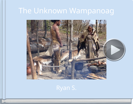 Book titled 'The Unknown Wampanoag'