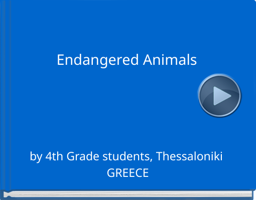 Book titled 'Endangered Animals'