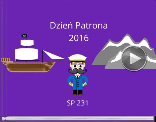 Book titled 'Dzień Patrona2016'