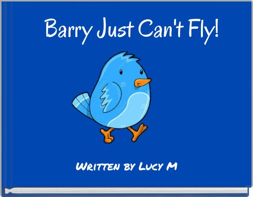 Barry Just Can't Fly!