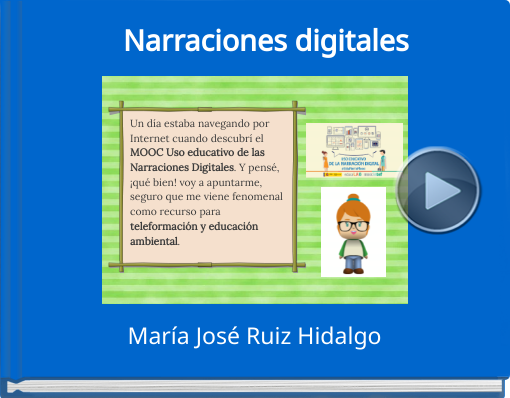 Book titled 'Narraciones digitales'