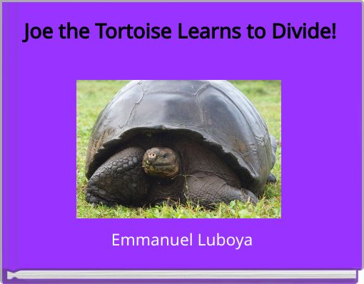 Joe the Tortoise Learns to Divide!