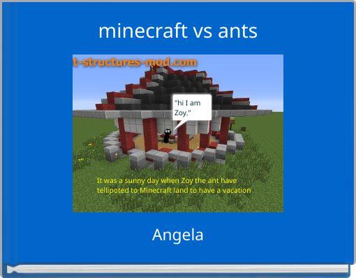 minecraft vs ants
