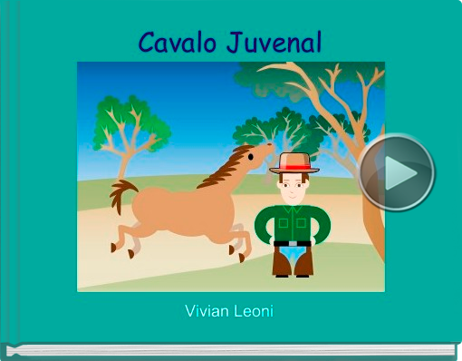 Book titled 'Cavalo Juvenal'