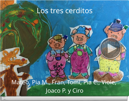 Book titled 'Los tres cerditos'