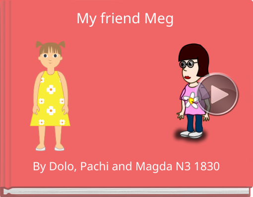 Book titled 'My friend Meg'