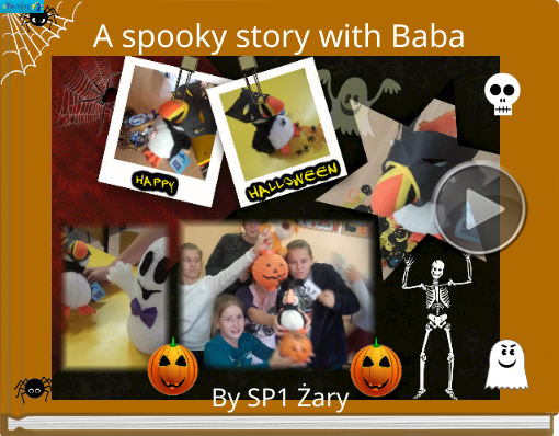 Book titled 'A spooky story with Baba'